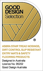 Award winning compliant safety stair tread nosings