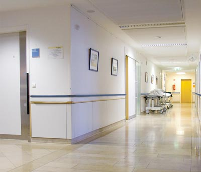 Hospital-down-hall