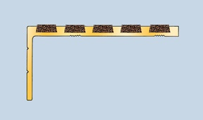 Asbrabronz Solid Brass Range Safety Stair Tread Nosings