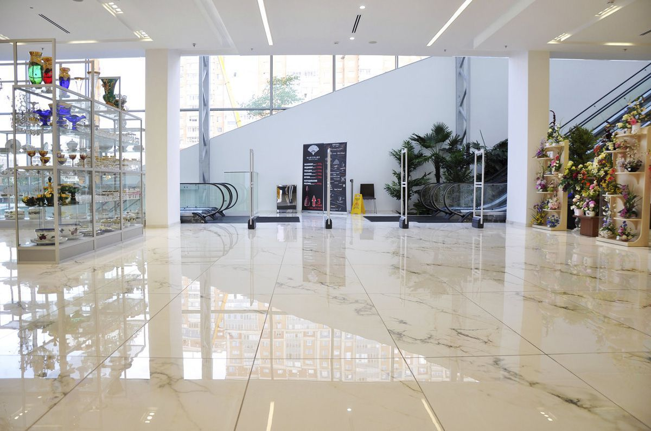 Tiara Shopping Centre High Polished Floors