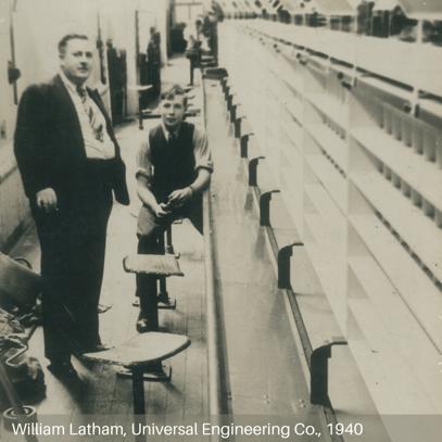 William Latham, Universal Engineering Co., 1940