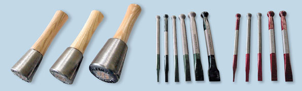 Stone carving chisels accessories