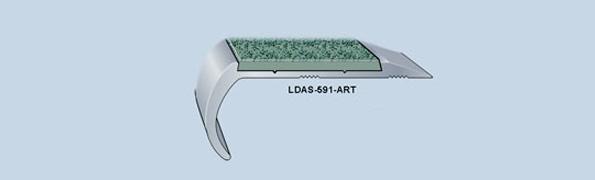 LDAS-591-ART 1 Bar LD Abrasive Resilient