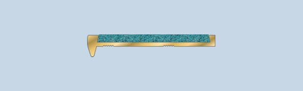 BFA501S Recessed Brass Nosing