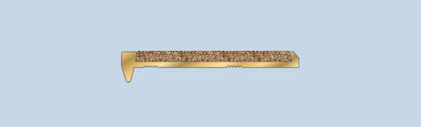 BFA501SB Bevelled Edge Brass Nosing